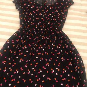 H&M Black A Line Dress